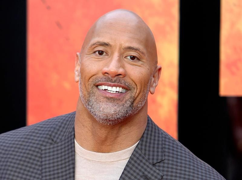 "Dwayne ""The Rock"" Johnson made his first-ever political endorsement. (Photo: zz/KGC-254/STAR MAX/IPx)"