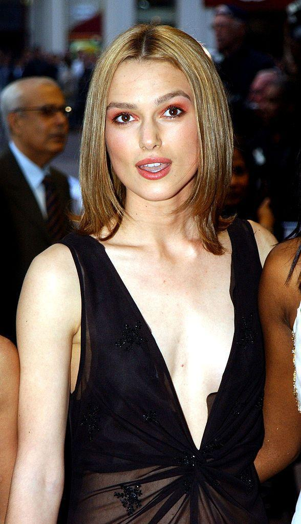 <p><strong>Taken: </strong>At the <em>Bend It Like Beckham</em> premiere in London in 2002.</p><p><strong>Breakthrough: </strong>Though some fans of the cult film will have known her from then, it wasn't until she starred in <em>The Pirates of The Caribbean </em>franchise in 2003 that really accelerated Knightley towards global stardom.</p>