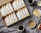 <p>Coffee addicts will be grateful for this <span>Bean Box - World Coffee Tour</span> ($89).</p>