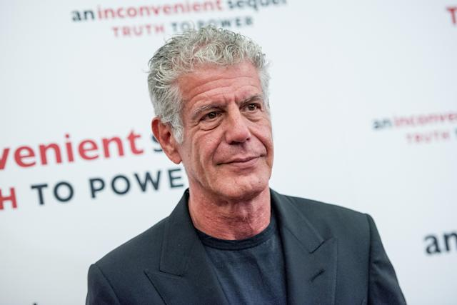 Anthony Bourdain, pictured in May 2017, has died at age 61 (Photo: Getty Images)
