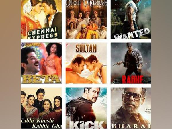 Posters of movies which released on the occasion of Eid