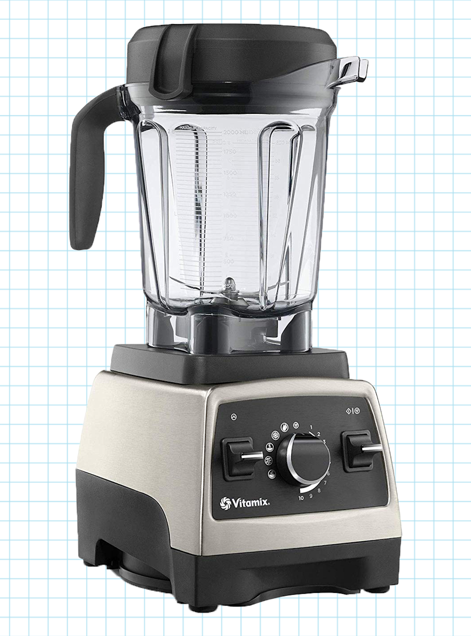 "<p><strong>Vitamix</strong></p><p>williamssonoma.com</p><p><strong>$599.95</strong></p><p><a href=""https://go.redirectingat.com?id=74968X1596630&url=https%3A%2F%2Fwww.williams-sonoma.com%2Fproducts%2Fvitamix-pro-750-heritage-blender%2F&sref=https%3A%2F%2Fwww.goodhousekeeping.com%2Fappliances%2Fblender-reviews%2Fg4864%2Fbest-blender-reviews%2F"" rel=""nofollow noopener"" target=""_blank"" data-ylk=""slk:Shop Now"" class=""link rapid-noclick-resp"">Shop Now</a></p><p>This super buzzy blender lives up to the hype. It has a large, 64-ounce clear plastic jar with a nonslip handle to facilitate pouring, and comes with a <strong>tamper to help process thick mixtures like nut butters and frozen desserts</strong>. The control panel has 10 speeds and five pre-programmed settings, allowing you to make a variety of blended beverages exactly the way you want them (read: not a single strawberry seed or fleck of spinach will be left behind). </p><p><strong>Cons</strong>: Its only flaw is the price tag. </p>"