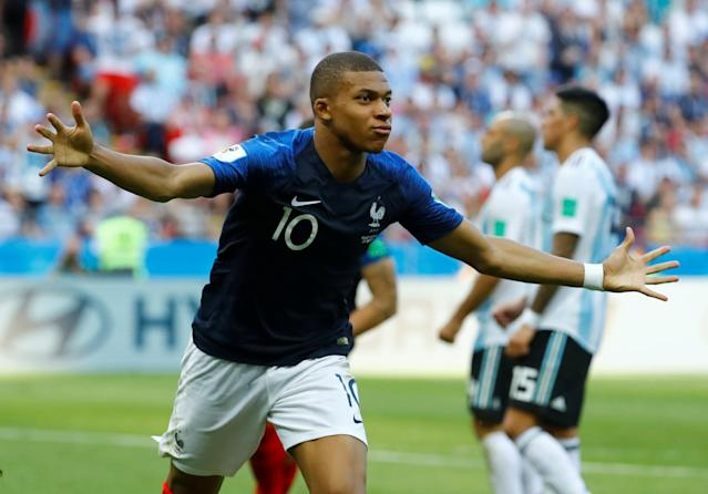 Kylian Mbappe has been a revelation for France at the World Cup