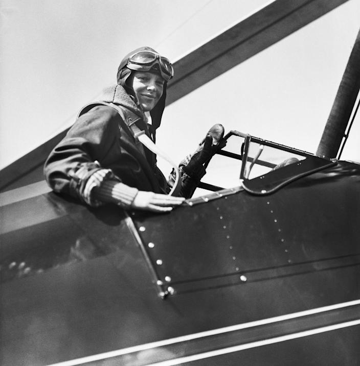 """<p>Amelia Earhart has been shrouded in mystery ever since her aircraft disappeared in 1937. While it's widely believed she ran out of fuel and crashed into the ocean, some think she landed by mistake on a deserted island and was eventually <a href=""""https://www.popularmechanics.com/flight/a28819047/amelia-earhart-disappearance-crab-theory/"""" rel=""""nofollow noopener"""" target=""""_blank"""" data-ylk=""""slk:eaten by the three-foot-long coconut crabs"""" class=""""link rapid-noclick-resp"""">eaten by the three-foot-long coconut crabs</a> that inhabited the shores. </p>"""