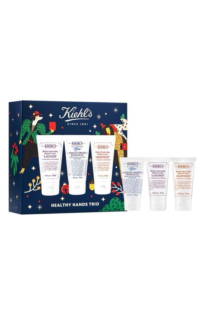 <p>With all the hand washing we've been doing, this <span>Kiehl's Since 1851 Healthy Hands Trio</span> ($30, originally $35) will be more useful and appreciated than ever before.</p>