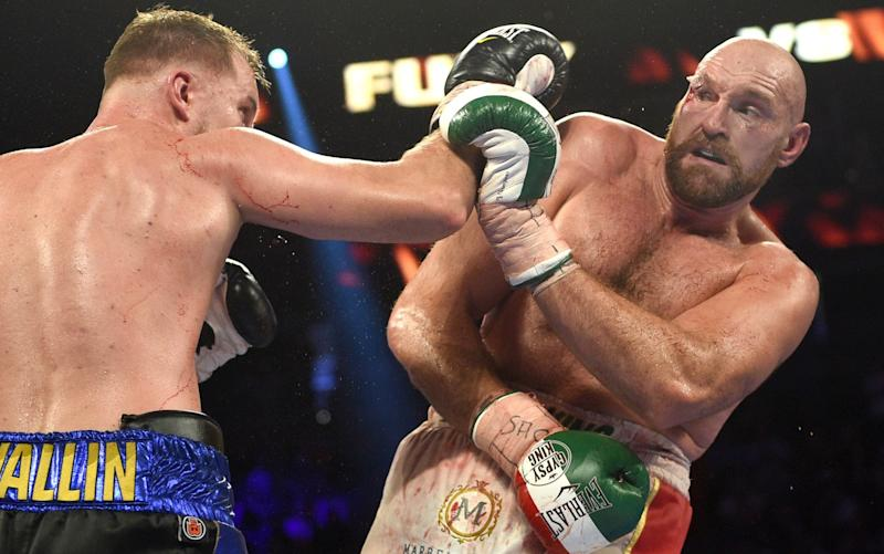 Tyson Fury was 'as weak as a kitten' againstOtto Wallin, according to his father - Getty Images North America