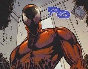 Venom: Let There Be Carnage teases the arrival of another symbiote villain, Toxin (Photo: Marvel)