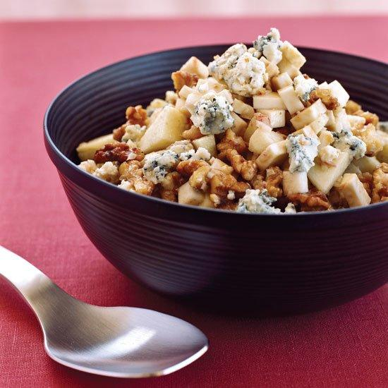 "<p>This delicious winter salad combines all kinds of flavors and textures: crunchy, juicy, earthy, nutty and toasty.</p><p><a href=""https://www.foodandwine.com/recipes/celery-roots-with-apples-walnuts-and-blue-cheese"">GO TO RECIPE</a></p>"
