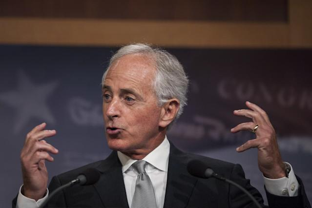 President Donald Trump said on Sunday that Sen. Bob Corker (R-Tenn.) is retiring from office because Trump refused to endorse him for re-election next year ― a claim that a source familiar with the matter disputed.