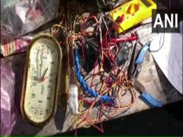 Incriminating material seized from the residence of ISIS operative Abu Yusuf in UP's Balrampur. [Photo/ANI]
