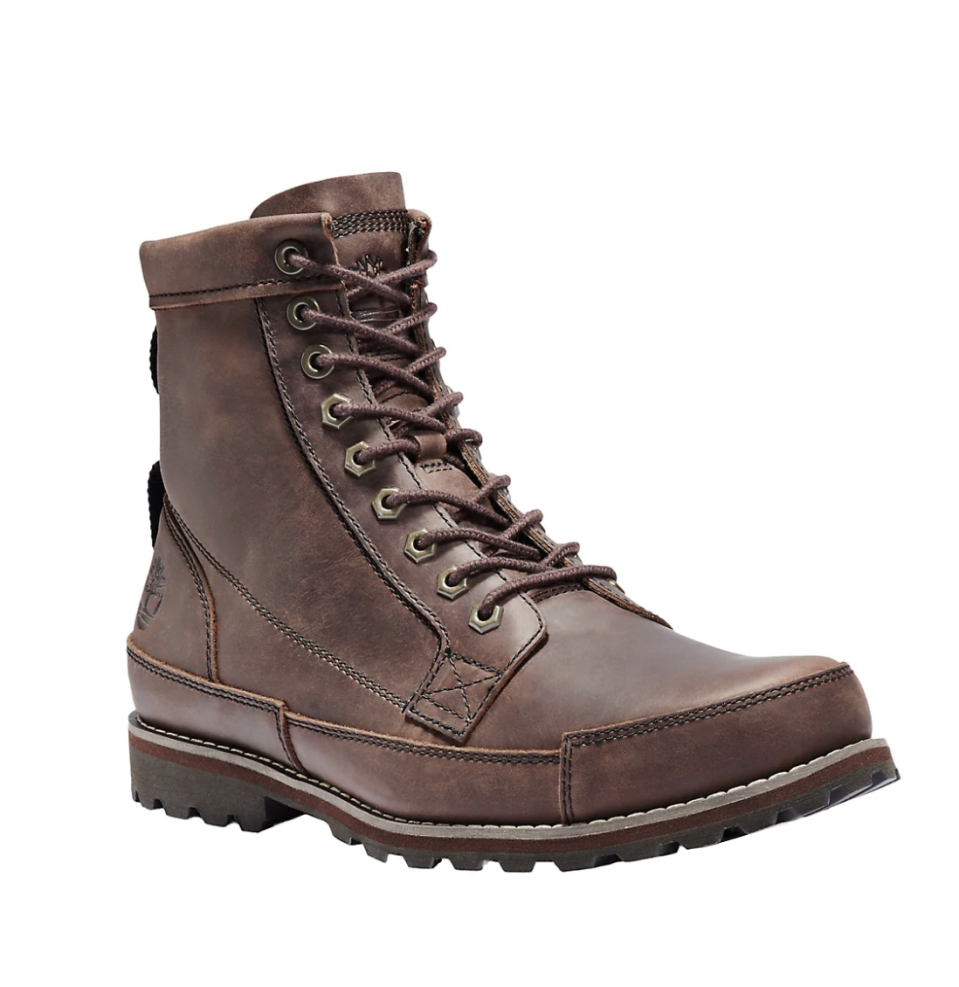 Timberland Originals II 6-Inch Leather Boots on sale for Black Friday, $144 (originally $180).