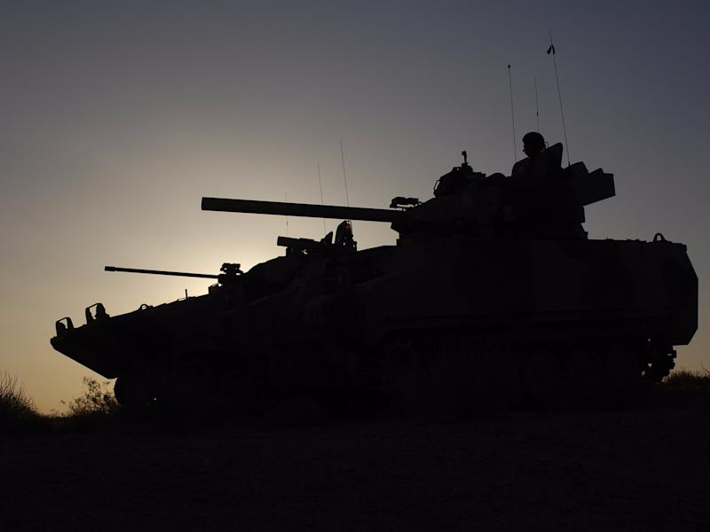 us army best photos 2012, tanks at dusk