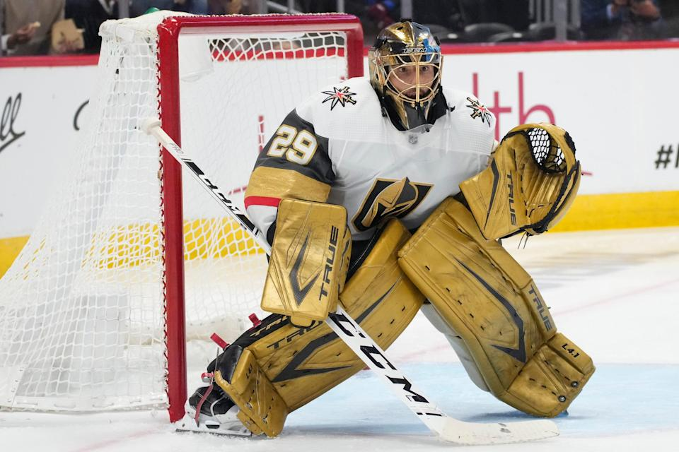 The Vegas Golden Knights have traded goalie Marc-Andre Fleury to the Chicago Blackhawks.