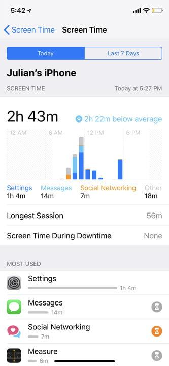 apple screen time and google digital wellbeing 3