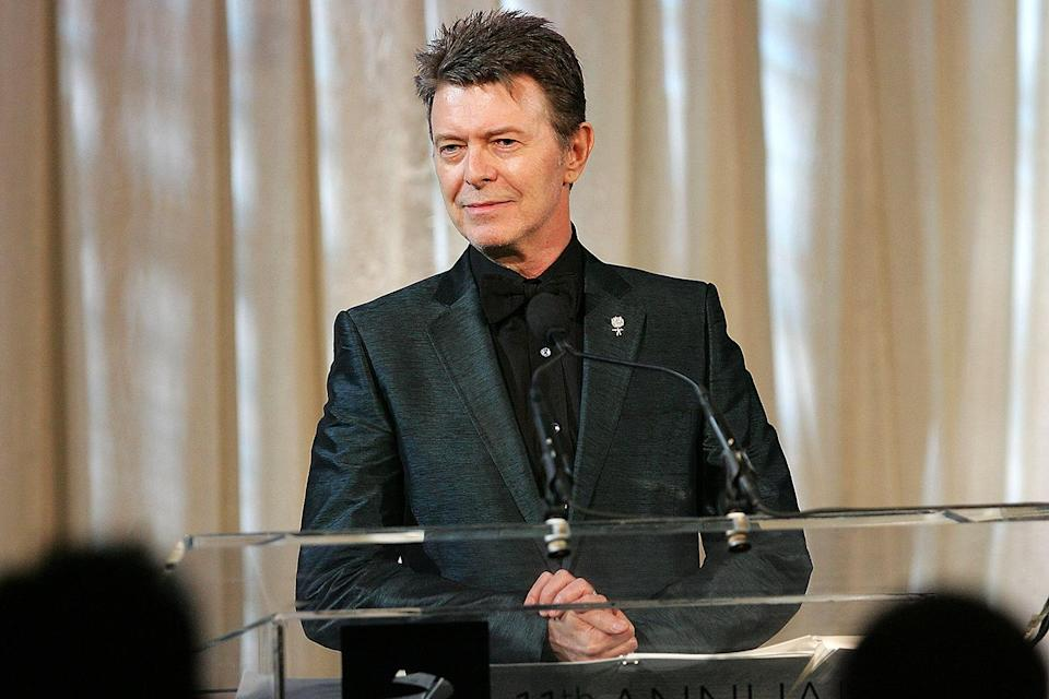 """<p>David Bowie turned down two awards: a Commander of the British Empire (CBE) in 2000 and a knighthood in 2003.</p> <p>""""I would never have any intention of accepting anything like that,"""" he told <em>the Sun</em> in 2003, the same year Mick Jagger was given a knighthood. """"I seriously don't know what it's for. It's not what I spent my life working for. It's not my place to make a judgment on Jagger, it's his decision. But it's just not for me.""""</p>"""
