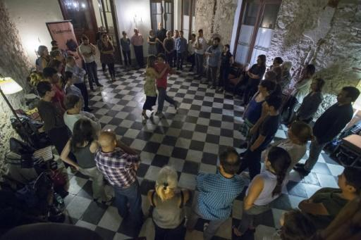 """Montevideo, a birthplace of tango, is trying to revive the dance's popularity with """"milongas"""" like this one for the curious and uninitiated"""