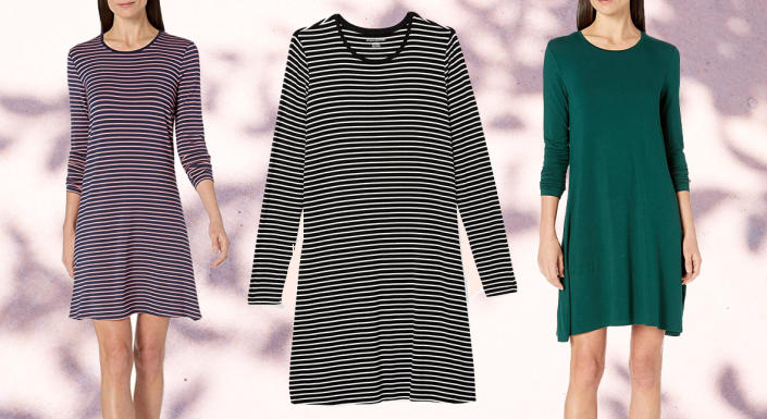 Let this crewneck dress become your new obsession. (Photo: Amazon)