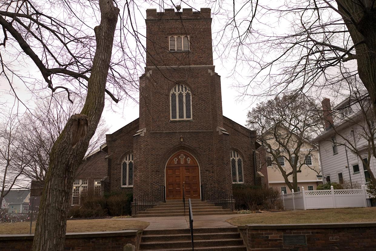 The Reformed Church of Highland Park in Highland Park, N.J. (Photo: Alan Chin for Yahoo News)