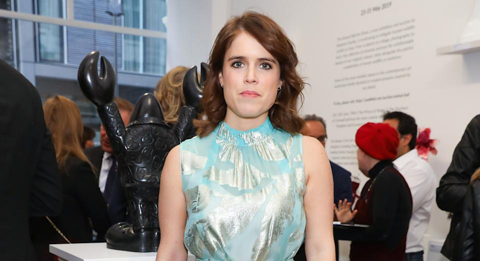 Princess Eugenie is due to give birth in mid-February, according to reports. (Getty Images)