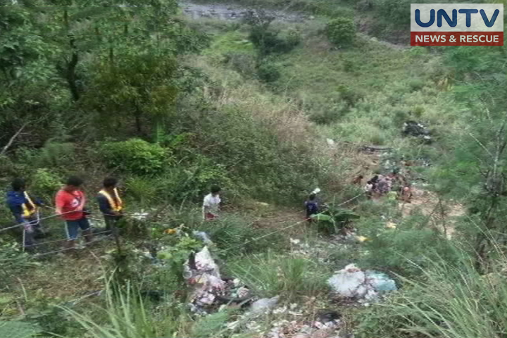 Nueva Ecija bus crash site