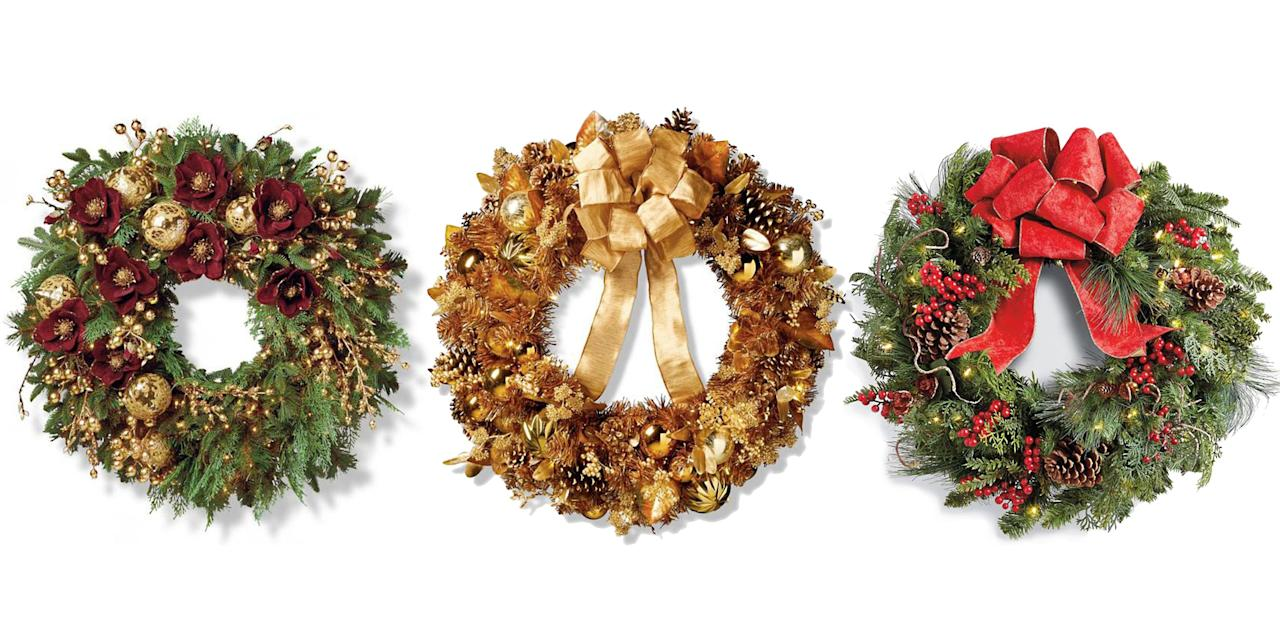 <p>This year officially marks the end of worrying about arriving to the tree lot after all the good greenery has been picked over-The options these days for buying wreaths online are both plentiful and stylish.</p>