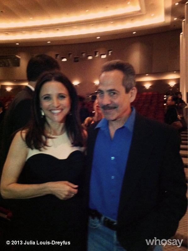 (Courtesy of WhoSay) June 6, 2013 Look who I ran into last nite! @RealSoupNazi Such a ball!
