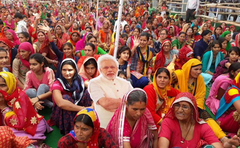 """The prime minister stressed on the importance of providing quality education to girls, just like boys. """"Equality between men and women make any society go forward and prosper. Let us resolve that there will be the same number of girls taking birth as the number of boys. Twitter @narendramodi"""