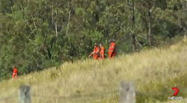 The missing hiker has been located 'safe and well'. Source: 7 News.