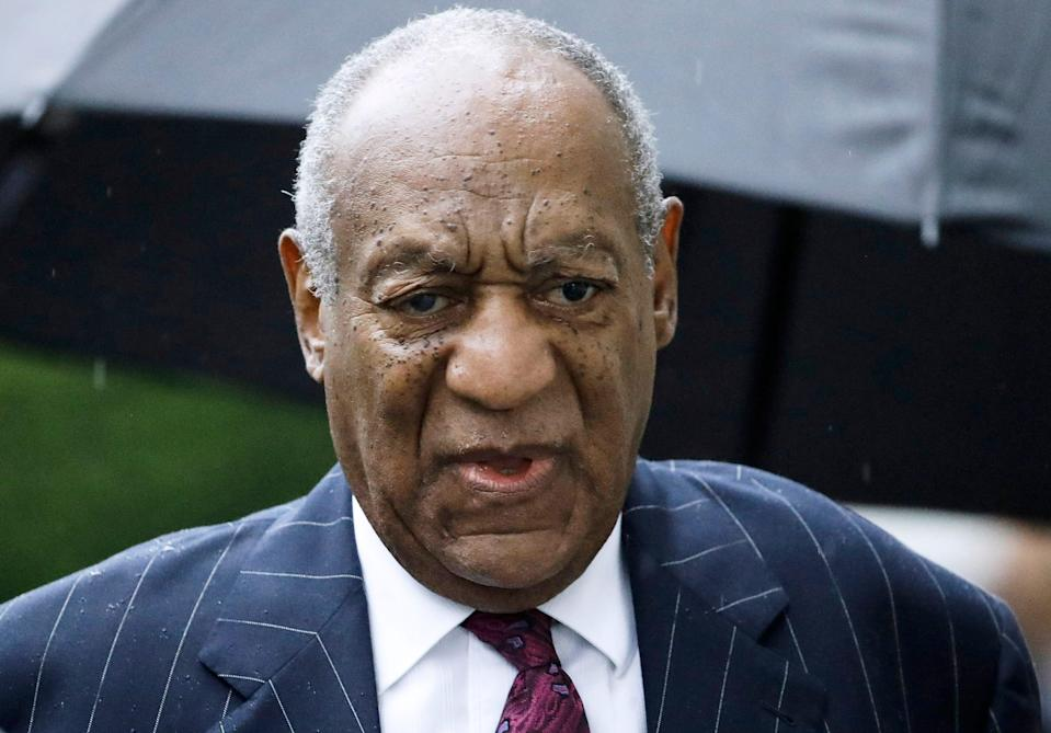 Bill Cosby arrives for a sentencing hearing following his sexual assault conviction in Norristown Pa., in September 2018.