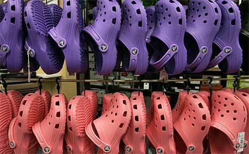 Crocs in their glory days