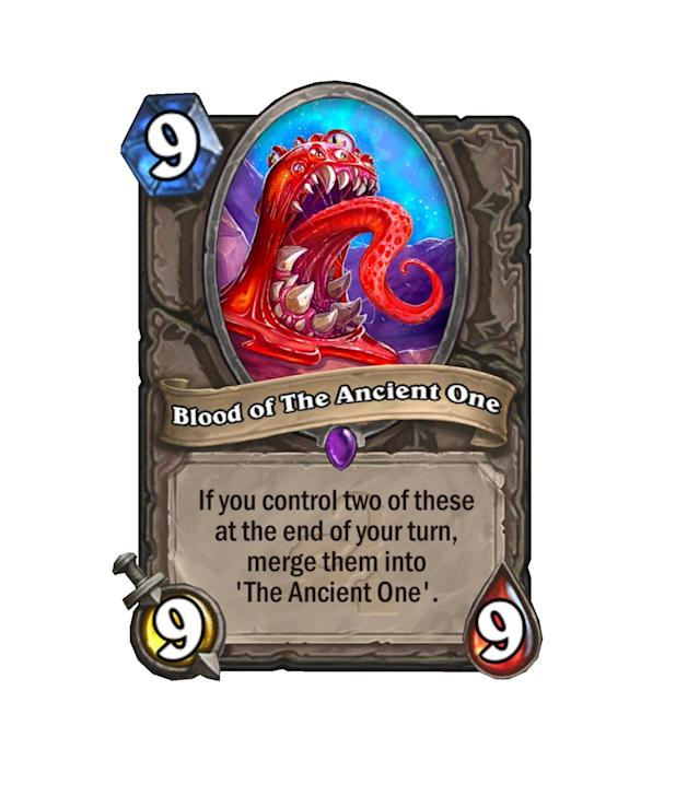 <p>Even The Ancient One's blood is a 9/9, apparently. That does make sense, though, as even two of these bad boys don't add up to his massive 30/30 body. That is, until they combine.</p>