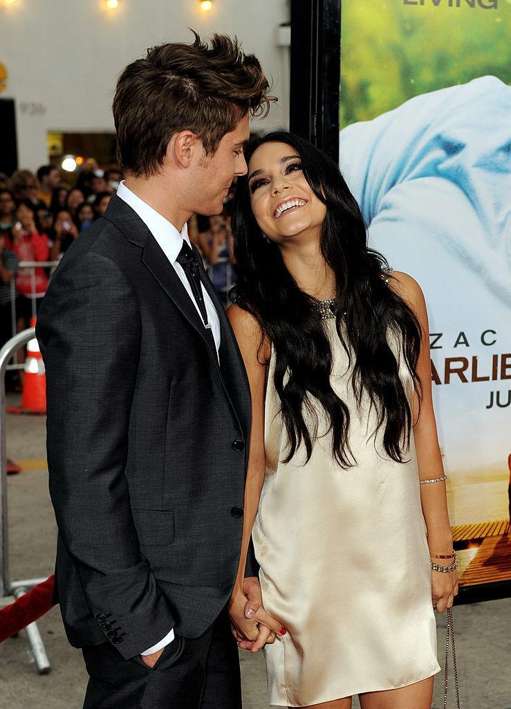 "<p>It was a high school romance for ""High School Musical"" stars Zac Efron and Vanessa Hudgens. <i>(Kevin Winter/Getty Images)</i></p>"