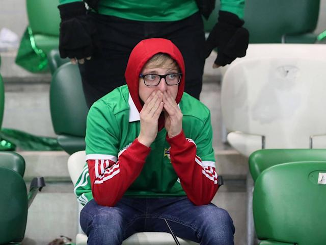 Northern Ireland angered by controversial penalty call in World Cup play-off with Switzerland