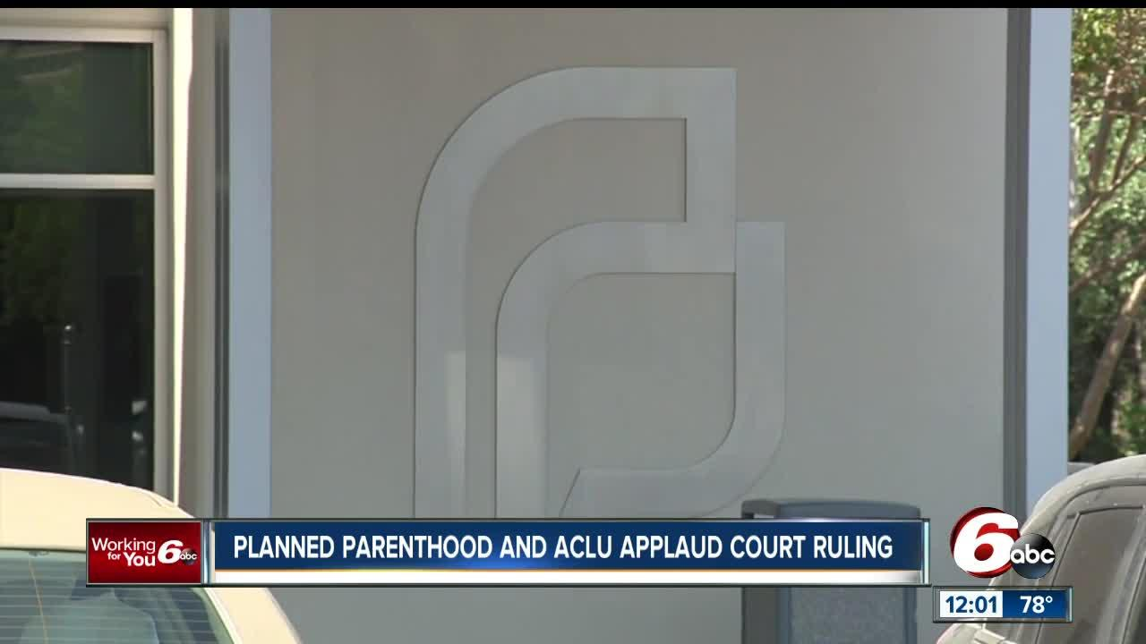 A permanent injunction was issued last Friday against portions of House Enrolled Act 1337. The ACLU and Planned Parenthood had challenged the law last year. The state now has 30 days to file an appeal.
