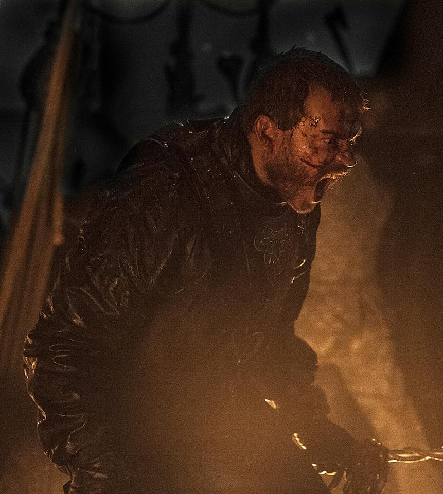 <p>Pilou Asbæk as Euron Greyjoy in HBO's <i>Game of Thrones</i>.<br /><br />(Photo Credit: Helen Sloan/courtesy of HBO) </p>