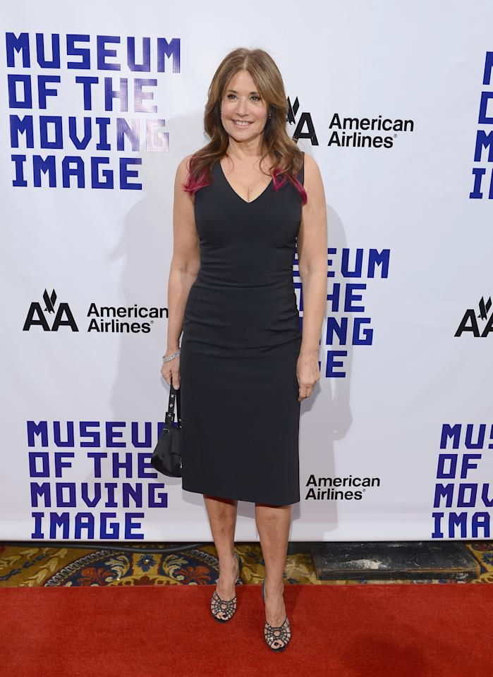 NEW YORK, NY - DECEMBER 11:  Actress Lorraine Bracco attends the Museum Of Moving Images Salute To Hugh Jackman at Cipriani Wall Street on December 11, 2012 in New York City.  (Photo by Larry Busacca/Getty Images)