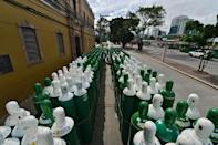 With more 19 million recorded infections to date -- likely an undercount according to experts -- almost four million people Latin America have required oxygen therapy since the Covid-19 epidemic began