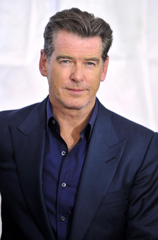 """<a href=""""http://movies.yahoo.com/movie/contributor/1800019685"""">Pierce Brosnan</a> at the New York City premiere of <a href=""""http://movies.yahoo.com/movie/1810076910/info"""">Remember Me</a> - 03/01/2010"""