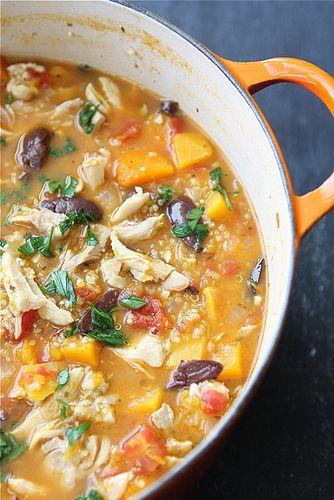 "<p>It's so flavorful, you won't believe it's actually good for you.</p><p>Get the recipe from <a href=""http://www.cookincanuck.com/2011/11/hearty-chicken-stew-with-butternut-squash-quinoa-recipe/"" rel=""nofollow noopener"" target=""_blank"" data-ylk=""slk:Cookin' Canuck"" class=""link rapid-noclick-resp"">Cookin' Canuck</a>.</p>"