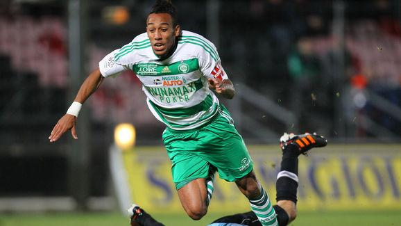 Saint-Etienne's forward Pierre Emerick (