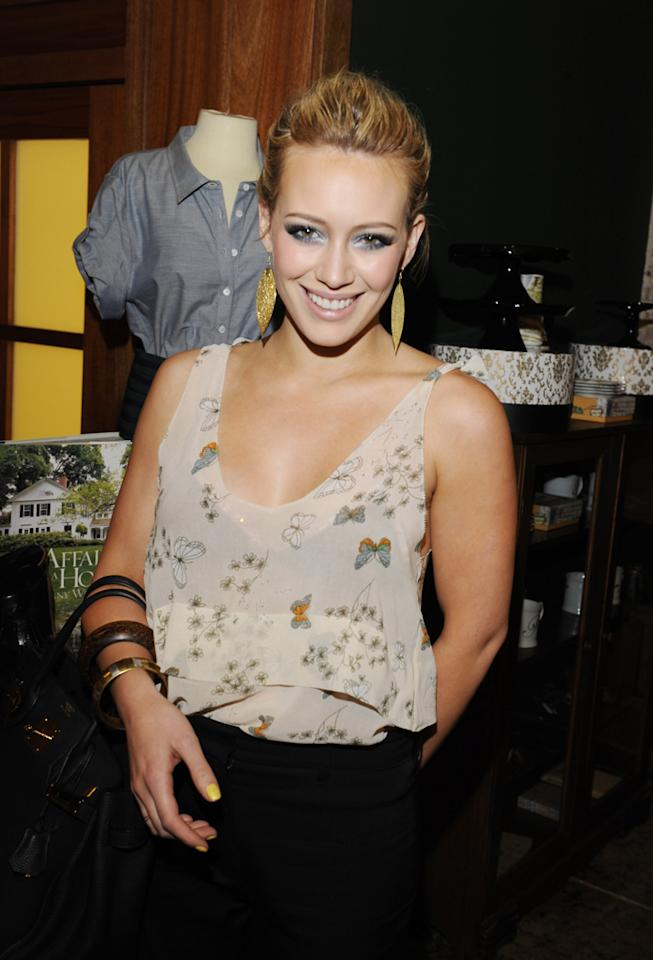 "In the six short years since her Disney Channel series ""Lizzie McGuire"" wrapped production, Hilary Duff has launched a clothing line and fragrance, starred in over 10 films, released two studio albums, married NHL player Mike Comrie, and written her first novel, <i>Elixir</i>, debuted October 12. Amy Graves/<a href=""http://www.wireimage.com"" target=""new"">WireImage.com</a> - March 18, 2010"