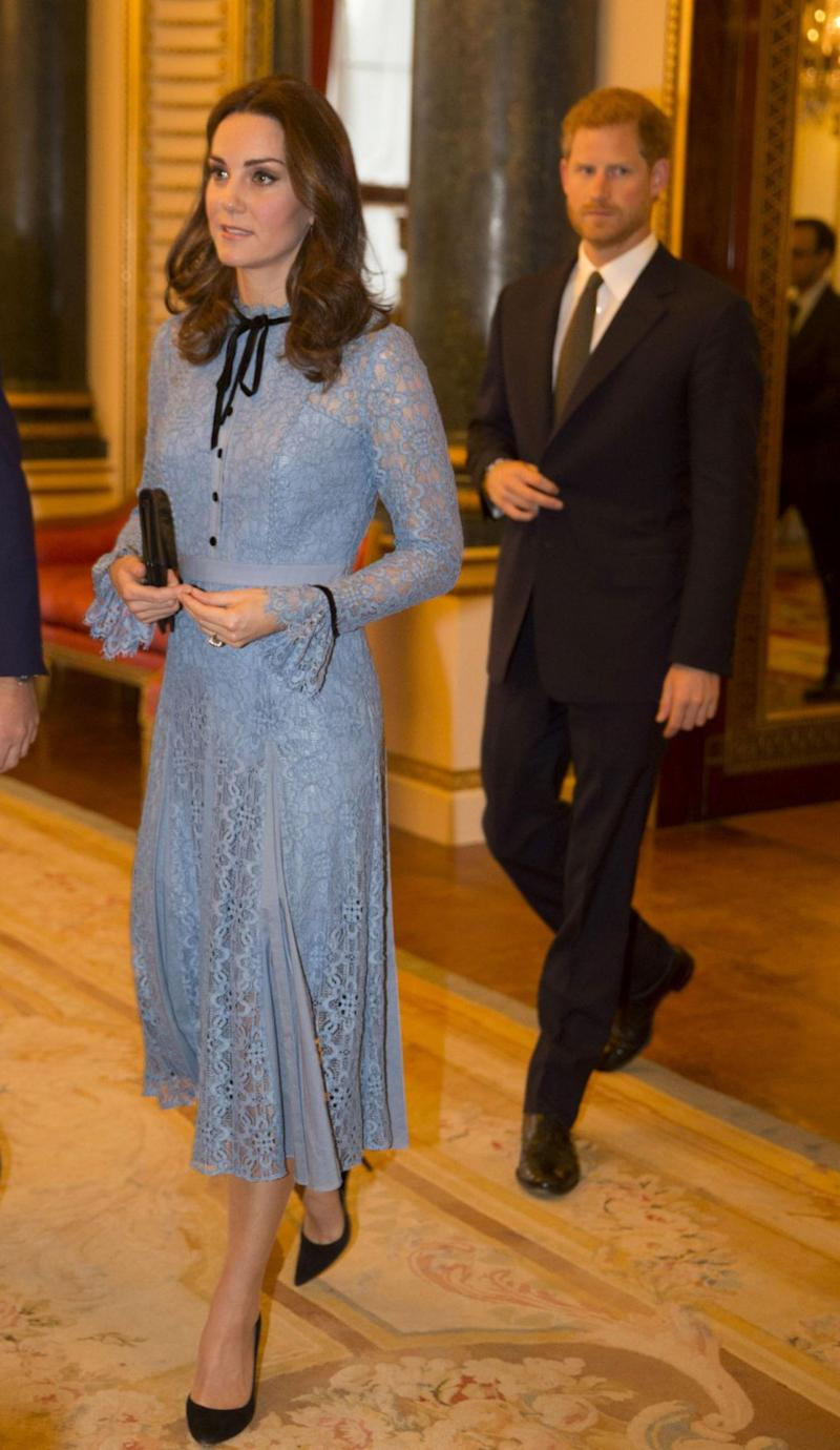 The Duchess stepped out this week for the first time since announcing she's pregnant with her first child. Photo: Getty Images