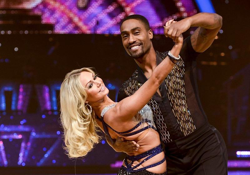 Simon Webbe has revealed that he specifically requested a dance partner who was single before taking part in the BBC competition series, in an attempt to avoid the 'Strictly curse'