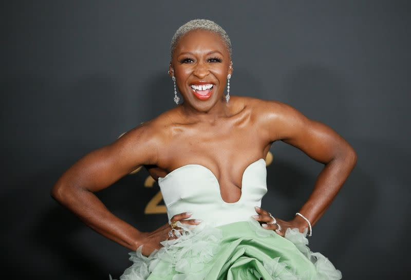 FILE PHOTO: 51st NAACP Image Awards – Arrivals – Pasadena - Cynthia Erivo