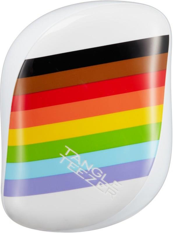 <p>Get your hair in check with the <span>Tangle Teezer Pride Power Compact Styler</span> ($16).<br> Tangle Teezer will be donating $50,000 to Stonewall as part of their long standing partnership. </p>