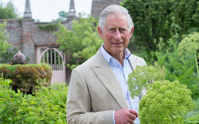 Prince Charles: a keen horticulturalist and champion of British farming - Highgrove Enterprises