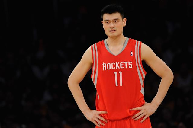 Yao Ming (Photo by Lisa Blumenfeld/Getty Images)