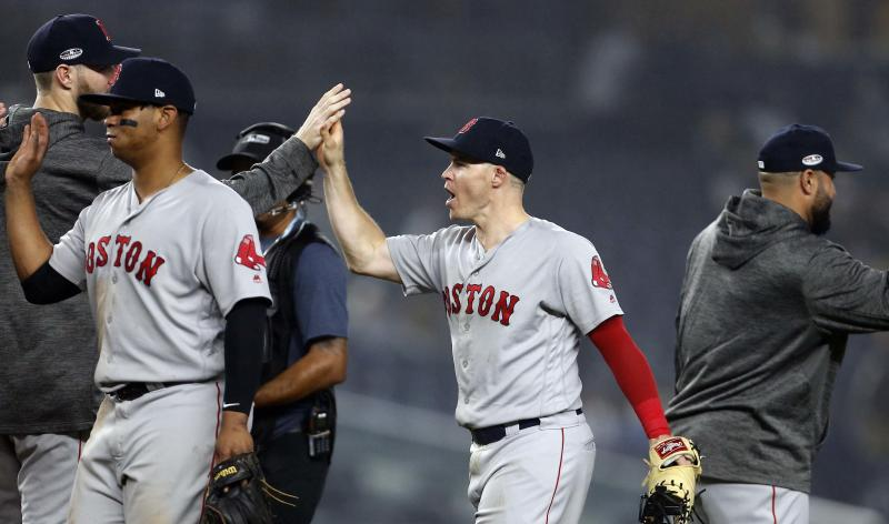 Red Sox eliminate Yankees, advance to face Astros in ALCS