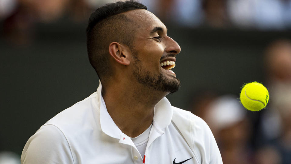 Nick Kyrgios' brother Christos labelled Rafael Nadal a 'f***ing p***y' on Instagram.