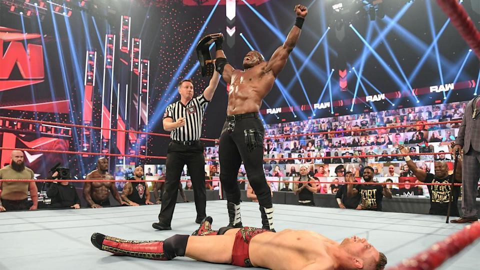 Bobby Lashley ensured Miz's title reign ended after just one week (WWE)